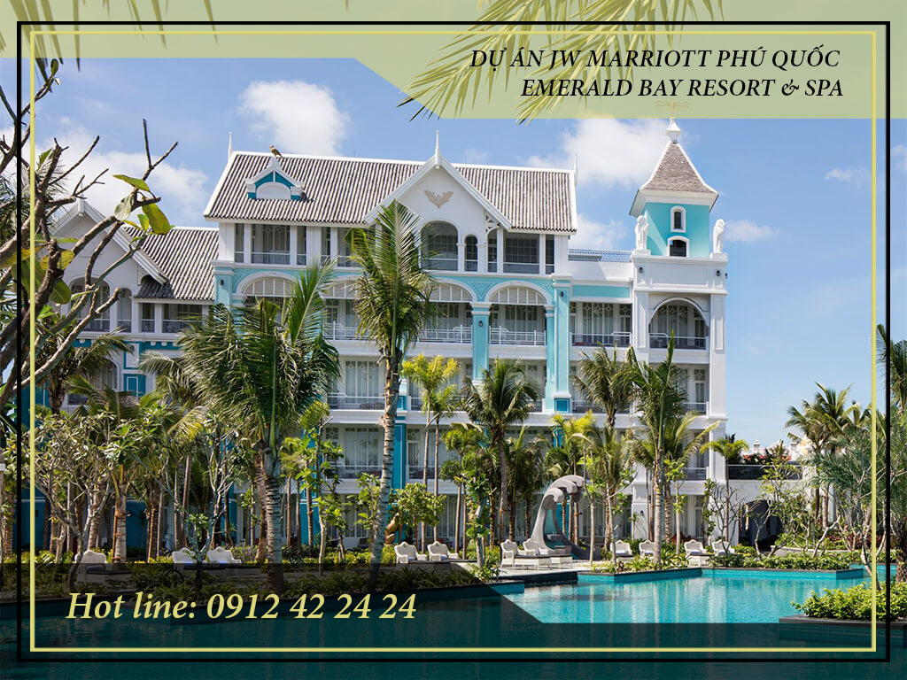Khu Nghỉ Dưỡng JW Marriott Phu Quoc Emerald Bay sẽ là sản phẩm nghỉ dưỡng cao cấp mang lại không gian tiện ích đầy đủ , đẳng cấp