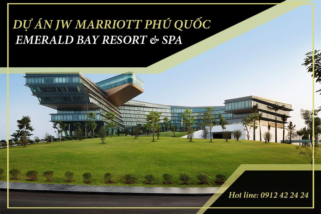 Khu Nghỉ Dưỡng JW Marriott Phu Quoc Emerald Bay là resort 5 sao nổi tiếng của tập đoàn Sun group và tập đoàn quản lý lý khách sạn hàng đầu thế giới Marriott International