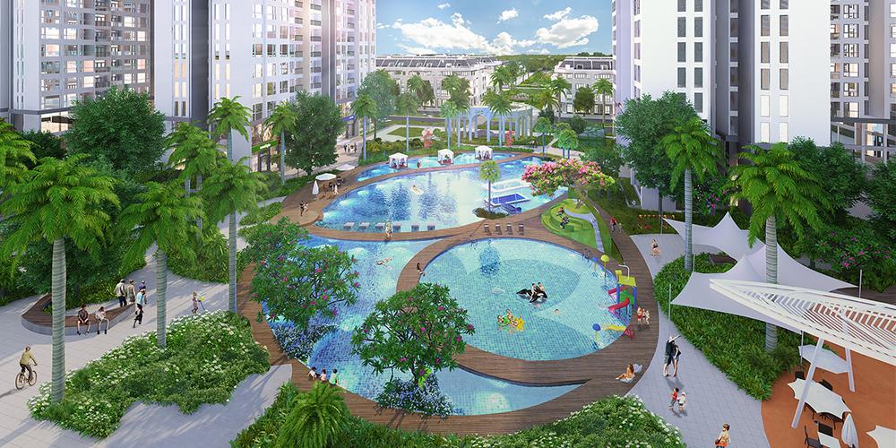 Liền kề khu đô thị Phú Mỹ Hưng, nằm trong khu vực quy hoạch và phát triển thành khu đô thị lớn.