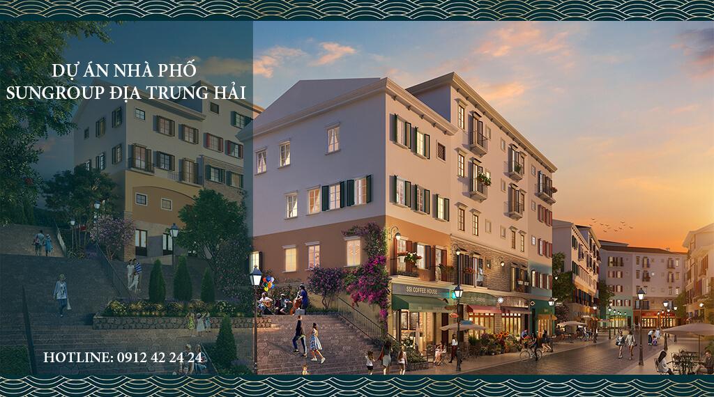 Nhà phố phong cách Đia Trung Hải mang lại giá trị đầu tư