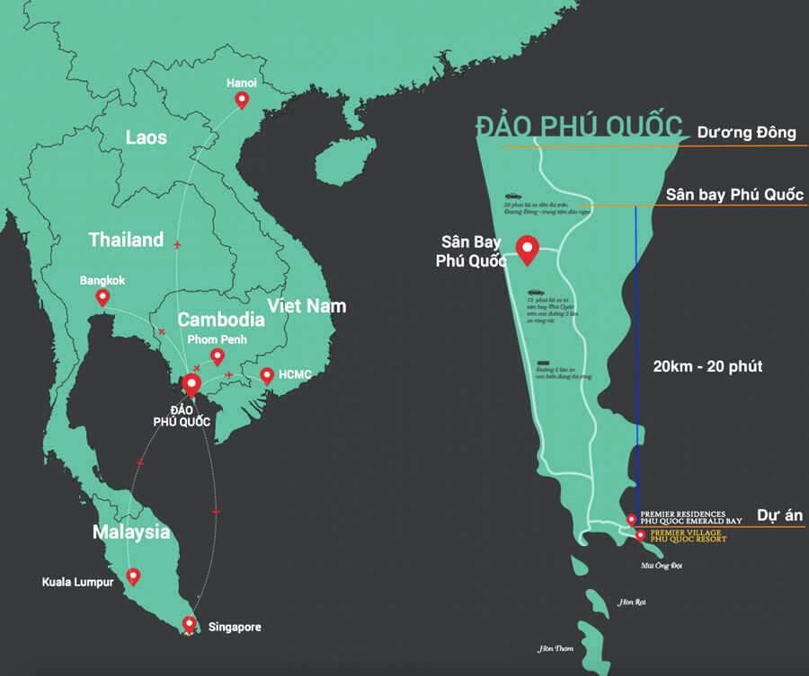 Dự án Shophouse Hòn Thơm Phú Quốc