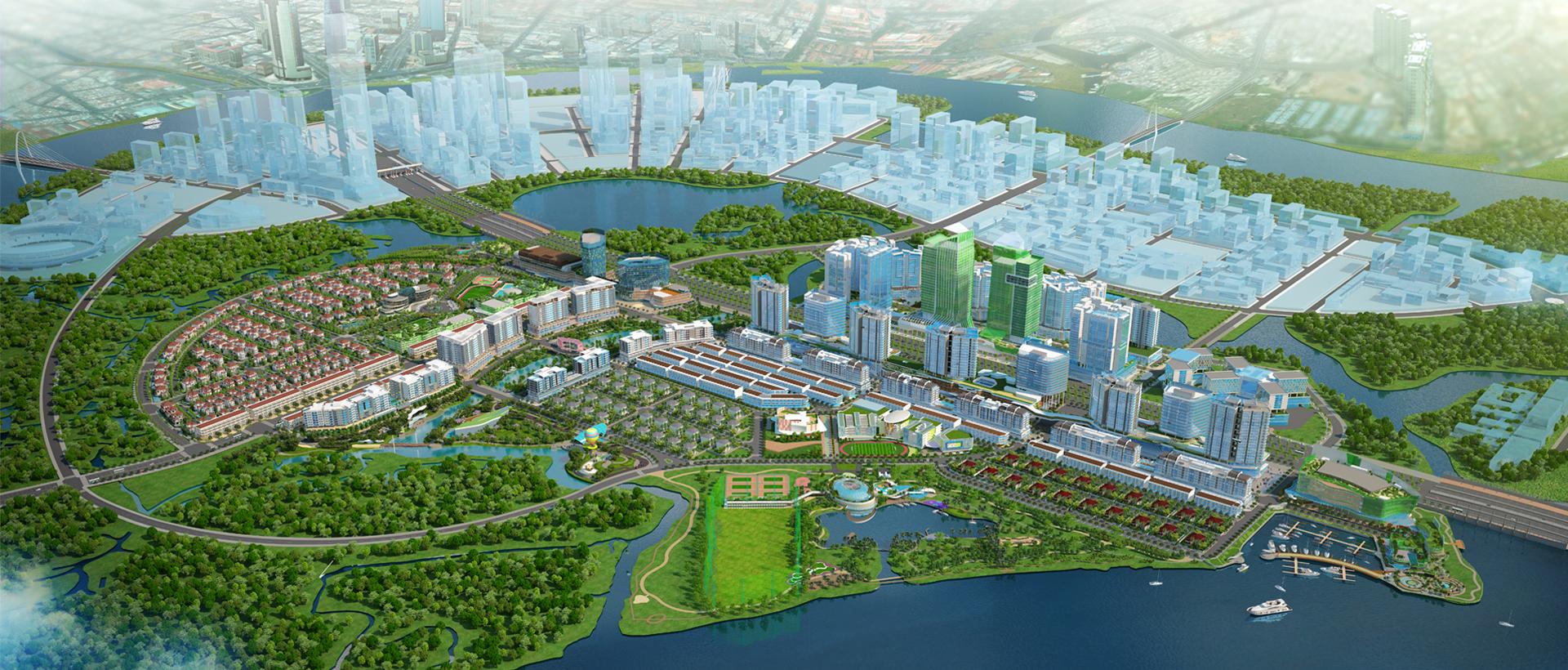 phát triển của của thành phố