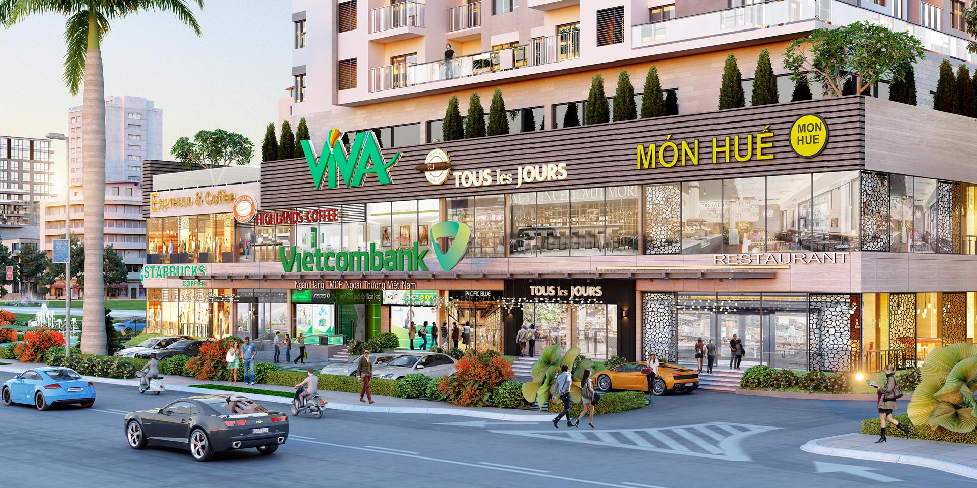 Thị trường mua bán shophouse Tp.HCM